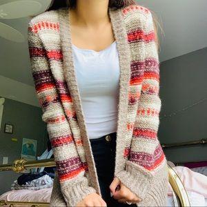 Hollister Striped Sweater Cardigan ❣️🌼